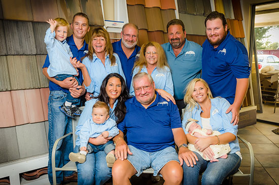 The Greenling Family three generations of Naples Roofing Contractors