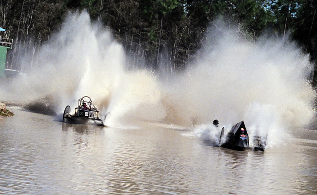 Roll on vs. The Terminator | Naples Swampbuggy Racing Greenling Roofing, Inc.
