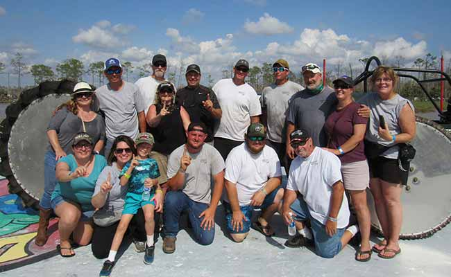 Greenling Racing Team and Family | Naples Swampbuggy Races