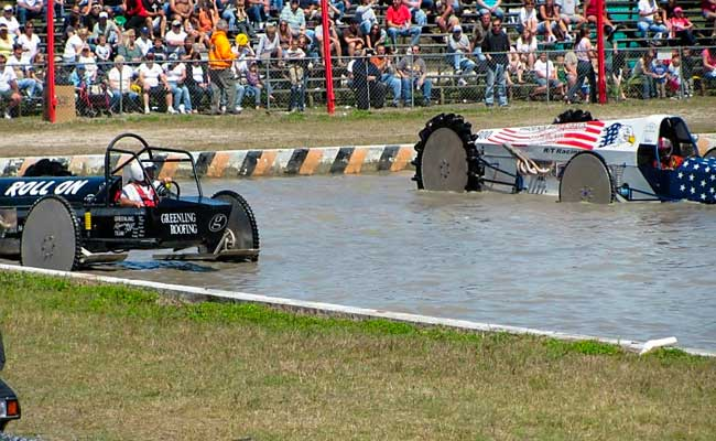 Dan Greenling's Roll on vs. The Patriot | Naples Swampbuggy Racing Greenling Racing Team