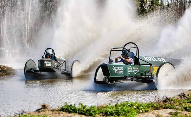 Greenling Racing Team's Roll On vs. Lets Roll | Swampbuggy Racing